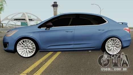 Citroen C4 Lounge Sport para GTA San Andreas