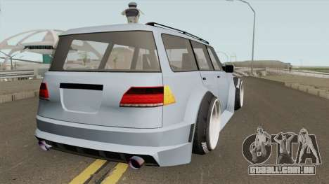 Nissan Patrol WideBody 2016 para GTA San Andreas