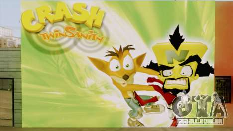 Crash Twinsanity Wall para GTA San Andreas