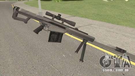 BARRETT XM109 Carbon Fiber (.25mm) para GTA San Andreas