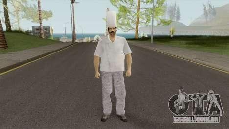 Chef From VC para GTA San Andreas