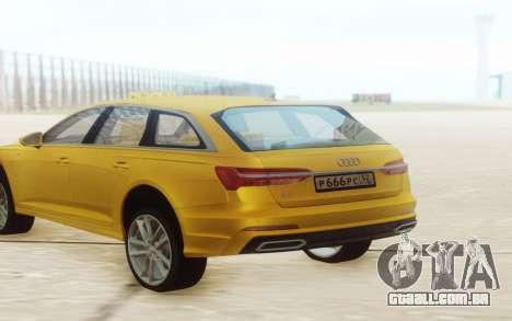 Audi A6 2019 para GTA San Andreas