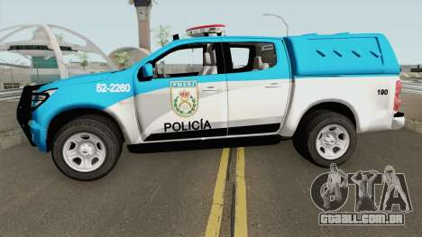 Chevrolet S10 PMERJ para GTA San Andreas