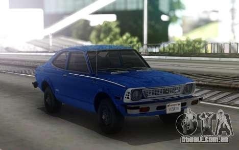 1974 Toyota Corolla SR5 (E20) para GTA San Andreas