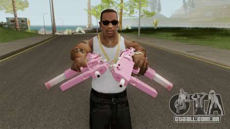 Rules of Survival MP7 Sakura para GTA San Andreas