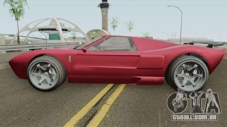 Vapid Bullet GT GTA V IVF para GTA San Andreas