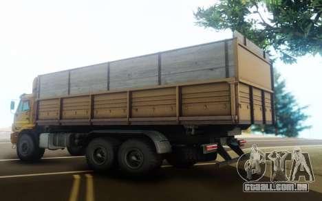 KamAZ 43118 Mesa trailer para GTA San Andreas