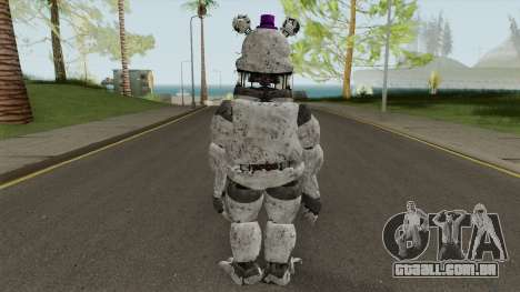 Fred Bear Gray V7 para GTA San Andreas