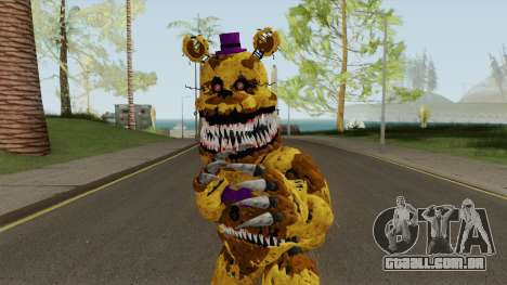 Nightmare Fred Bear V7 para GTA San Andreas