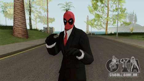 MR DeadPool para GTA San Andreas