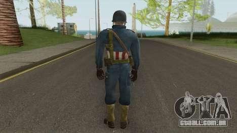 American Soldier para GTA San Andreas