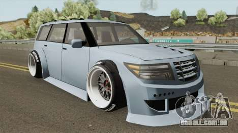 Nissan Patrol WideBody 2016 para GTA San Andreas