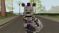 FNaF Fred Bear Grey v7 para GTA San Andreas