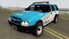 Chevrolet Blazer 2010 PMERJ para GTA San Andreas