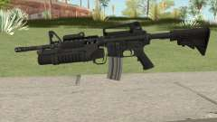 M4 With M203 para GTA San Andreas