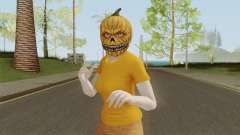 GTA ONLINE Halloween Skin Female para GTA San Andreas