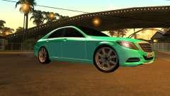 Mersedes-Benz s63 w222 Bulkin Amoral v 1.2 para GTA San Andreas