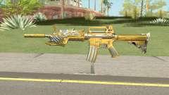 CF M4A1-S Beast Noble Gold para GTA San Andreas
