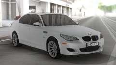 BMW M5 E60 Clear White para GTA San Andreas