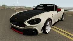 Fiat 124 Spider Abarth V2 para GTA San Andreas