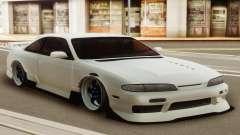 Nissan Silvia S14 Zenki White para GTA San Andreas