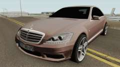 Mercedes-Benz W221 HQ para GTA San Andreas
