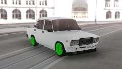 2107 Verde rodas para GTA San Andreas