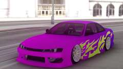 Nissan 200SX S14 Gradient Factory New para GTA San Andreas