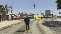 Flaming Footprints 1.0 para GTA 5