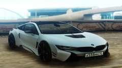 BMW i8 AC Schnitzer ACS8 White para GTA San Andreas