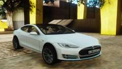 Tesla Model S White para GTA San Andreas