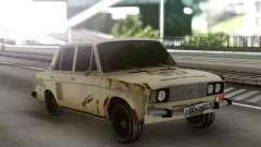 VAZ 2106 Vagabundo Enferrujado para GTA San Andreas