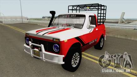 Lada Niva Pick Up para GTA San Andreas