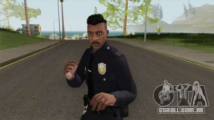 GTA Online Random Skin 14 LSMPD Male Officer para GTA San Andreas