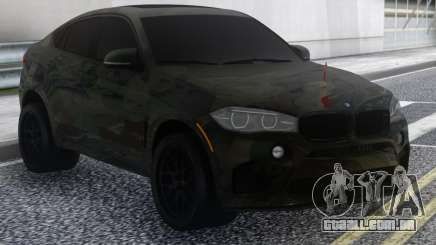 BMW X6 Camo para GTA San Andreas