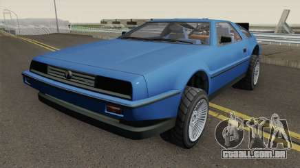 Deluxo Time Machine 1.0 GTA 5 para GTA San Andreas