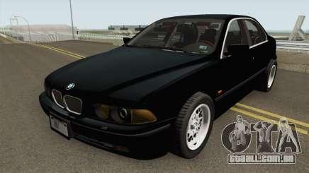 FIB BMW 5-Series e39 525i 1999 (US-Spec) para GTA San Andreas