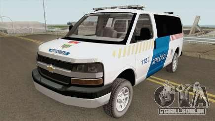 Chevrolet Express Hungarian Police Rendorseg para GTA San Andreas
