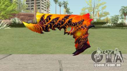 Rules of Survival Deagle Magma Demon para GTA San Andreas