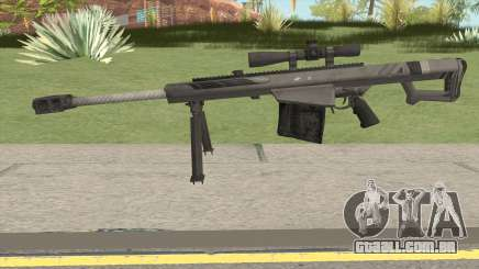 BARRETT XM109 Carbon Fiber (.25mm) para GTA San Andreas