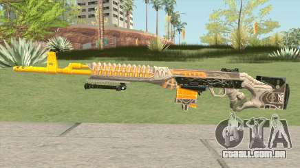 Rules of Survival SVD Skull Splitter para GTA San Andreas