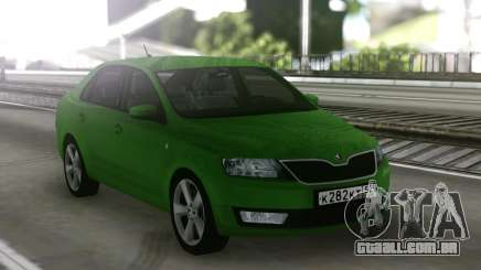 Skoda Rapid Green para GTA San Andreas