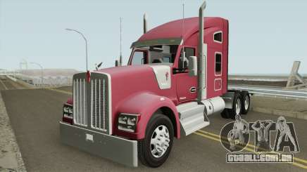 Kenworth W990 Studio Sleeper para GTA San Andreas