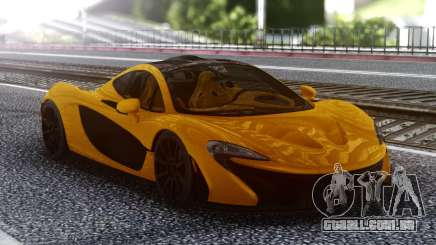 McLaren P1 Orange para GTA San Andreas