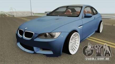 BMW M3 E92 HQ para GTA San Andreas