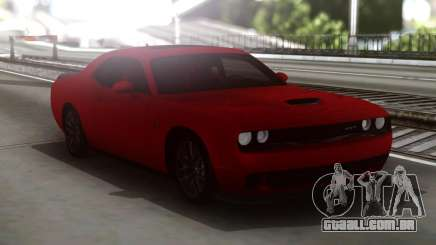 Dodge Challenger SRT Red para GTA San Andreas