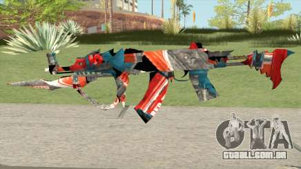 AKM Deep Freeze Bugged para GTA San Andreas