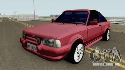 Ford Escort XR3 1992 Cabriolet HQ para GTA San Andreas