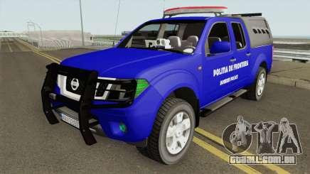 Nissan Frontier - Politia De Frontiera 2014 para GTA San Andreas