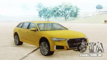 Audi A6 2019 Yellow para GTA San Andreas